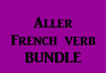 Aller French Verb Bundle