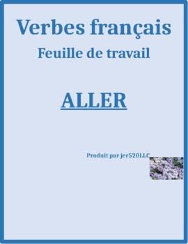 Aller French verb worksheet 3