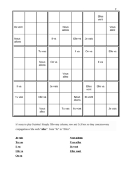 Aller Sudoku