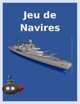 Aller, Venir and Prepositions French verbs Bataille Navale Battleship game