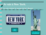 Aller and Aller + Infinitive Futur proche in French PowerPoint
