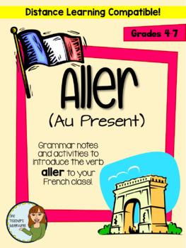 Aller (au present) - grammar notes and activities