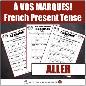Aller present tense conjugation practice - À vos marques, prêts, partez!