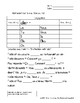 The Verb Aller (to go) Exercise Packet FRENCH