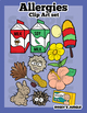 Allergies and Allergens Clip Art set
