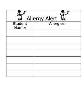 Allergy Alert
