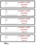 Allergy Alert Bracelets