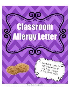 Allergy Letter