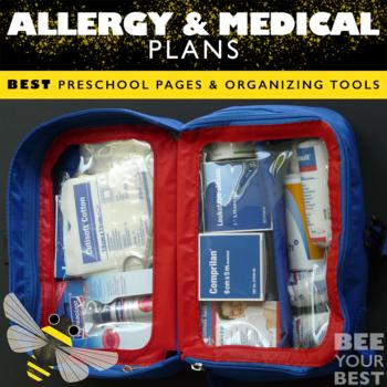 Allergy and Medical Plan Binder
