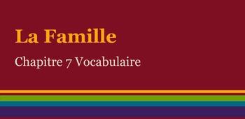 Allez Viens Chapter 7 (Premiere Etape) - Vocabulary with audio
