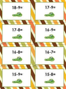 Alli Gator Subtraction