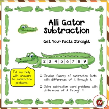 Alli Gator Subtraction