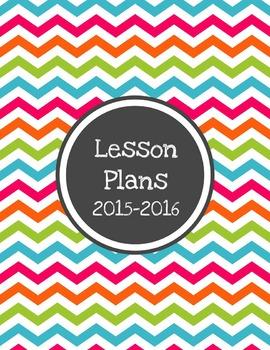 Allie Editable Lesson Plan Template