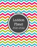 Allie Editable Lesson Plan Template