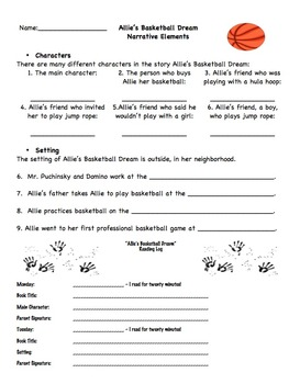 Allie's Basketball Dream Third Grade