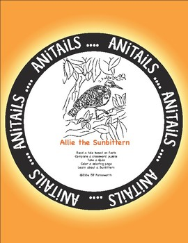ANiTAiLS: Allie the Sunbittern Story, Crossword, Coloring page and more