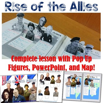 Allied leaders of world war 2 pop up figures lesson plan by students allied leaders of world war 2 pop up figures lesson plan gumiabroncs