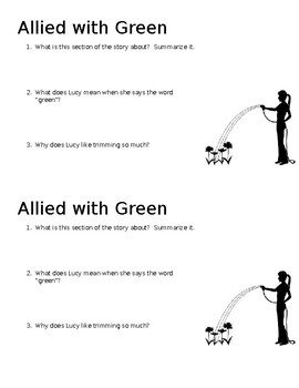 Allied With Green Mini-Quiz