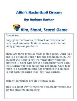 Allie's Basketball Dream Aim, Shoot, Score Game