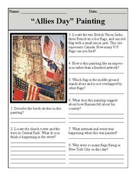 Allies Day Painting