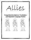 Allies by Alan Gratz Comprehension Quizzes