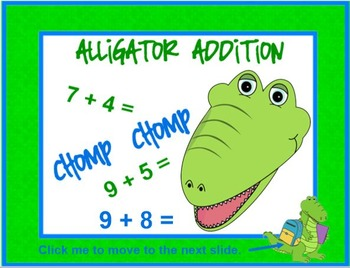 Alligator ADDITION