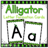 Alligator Alphabet & Letter Formation Cards {Perfect for RtI, & intervention}