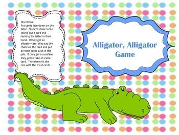 Alligator Alphabet Recognition Game