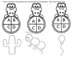 Alligator Alphabet, Sounds and Tracing
