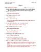 Alligator Article (Level 2) Comprehension Worksheet