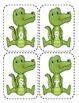 Alligator Capital Alphabet Flash Cards