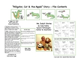 Alligator, Cat & the Apple, a Phonemic Awareness Story
