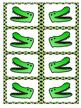 Alligator Chomp! Comparing Whole Numbers 1-30