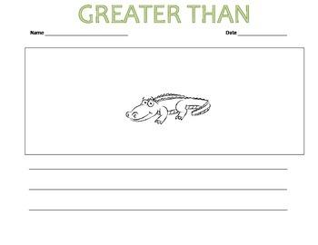 Alligator Chomp: Greater Than