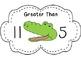 Alligator Chomp- Greater than, Less than