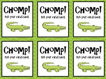 Alligator Chomp-Syllables