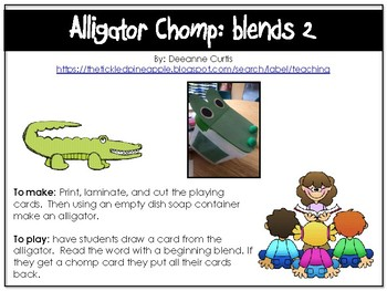 Alligator Comp-beginning blends 2