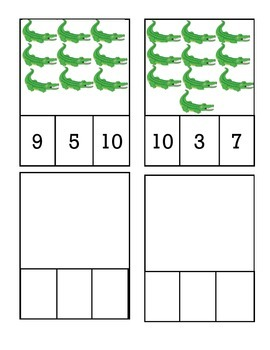 Alligator Counting Cards
