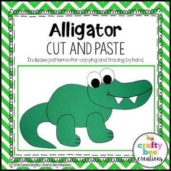 Alligator Cut and Paste