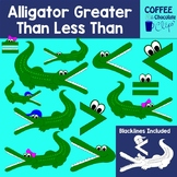 Alligator Greater Than Less Than Clipart