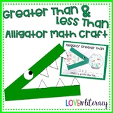 Greater Than and Less Than - Math Craft