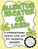Alligator Greater or Less? A Common Core Unit for Comparing Numbers