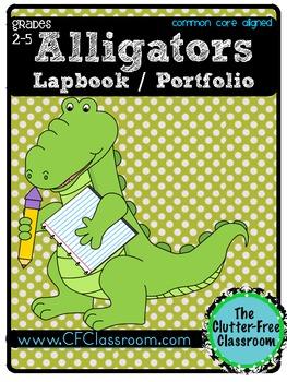 Alligator Lapbook Portfolio Research Project
