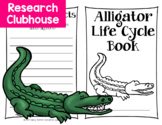 Alligator Life Cycle Research Book