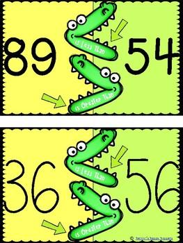 Comparing Numbers - Alligator Math