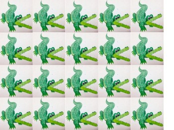 Alligator Math Greater Than, Less Than, Equal To