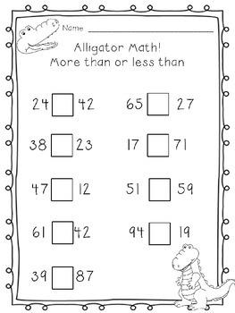 Alligator Math: More than or Less Than