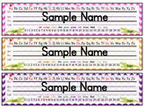 Alligator Name Plates / Desk Tags
