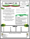 Alligator Newsletter