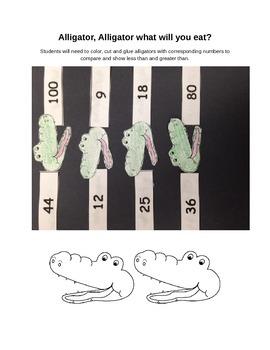 Alligator Number Comparison